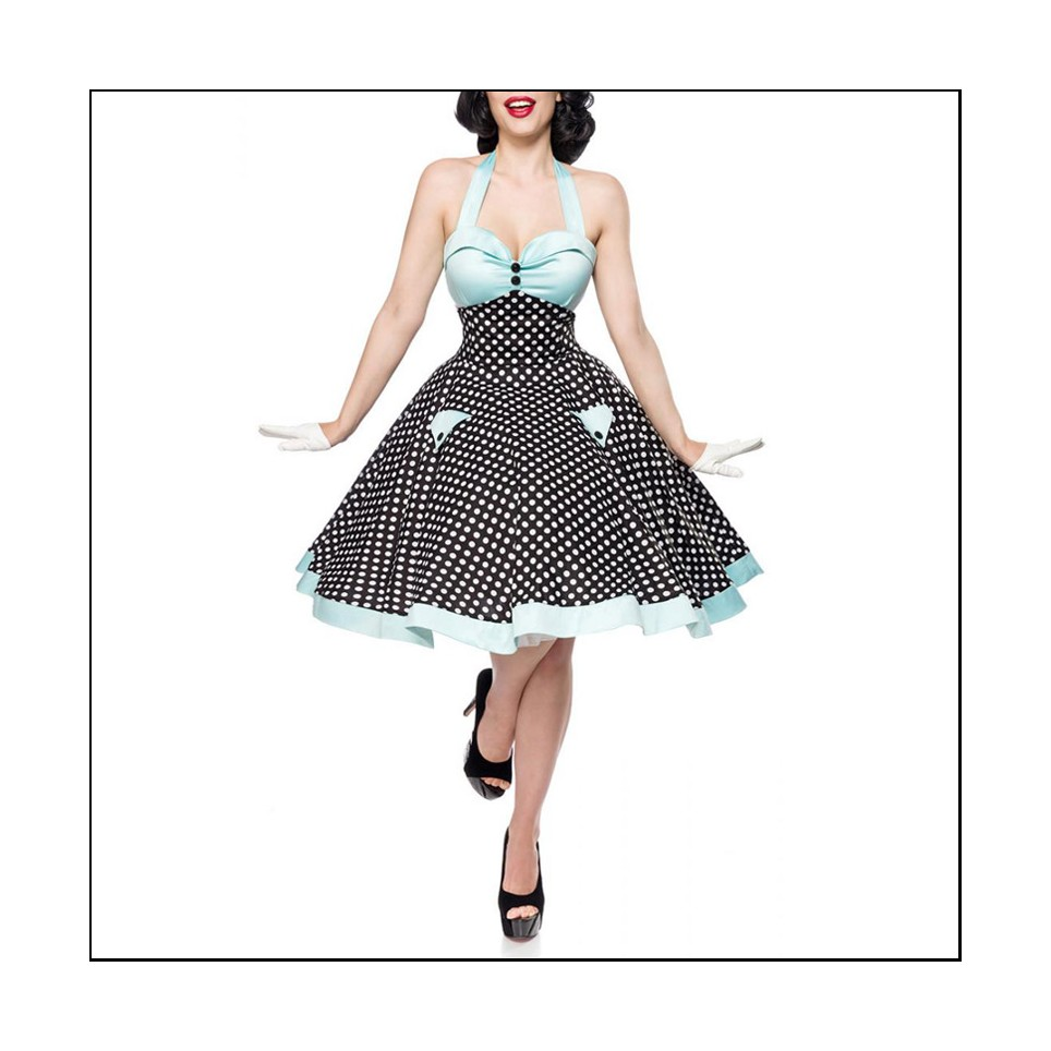 Robe Swing Vintage A Pois Mode Rockabilly Les Courbes D Anais